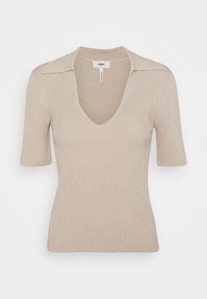 OBJENYA - T-shirt basique - silver gray