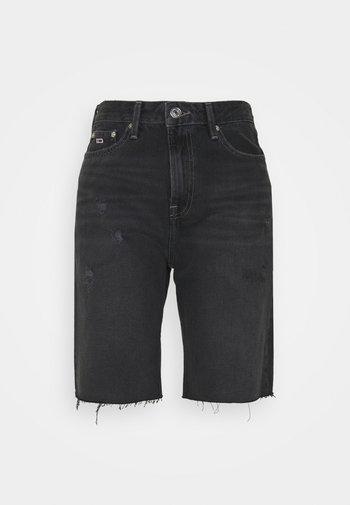 HARPER BERMUDA - Shorts di jeans - black denim