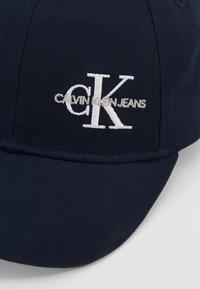 Calvin Klein Jeans - MONOGRAM BASEBALL - Lippalakki - blue - 2