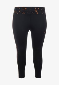 ONLY Play - ONPGOLDIE 7/8 TRAINING - Collants - black/rose gold - 0