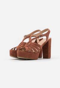 Unisa - VABEL  - High heeled sandals - tiffany - 2