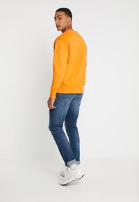 Tommy Jeans - BADGE CREW - Sweatshirt - orange - 2