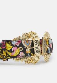 Versace Jeans Couture - LARGE DOUBLE BAROQUE BUCKLE - Pásek - multi-coloured - 6