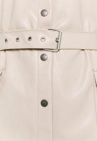 Noisy May Tall - NMDUST SHIRT DRESS - Etuikjole - taupe gray - 2