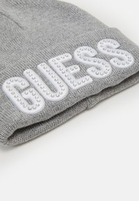 Guess - HAT WITH LOGO - Čepice - light heather grey - 2