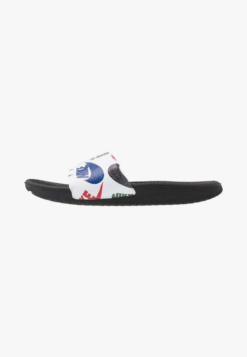 Nike Performance - KAWA SLIDE  - Sandály do bazénu - black/white