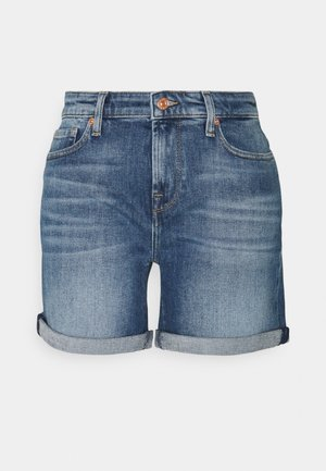 PIER - Denim shorts - mid blue