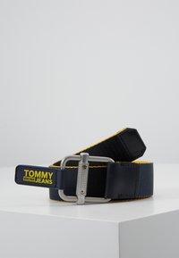Tommy Jeans - LOGO TAPE BELT - Bælter - yellow - 2