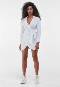 Bershka - Robe d'été - white - 1