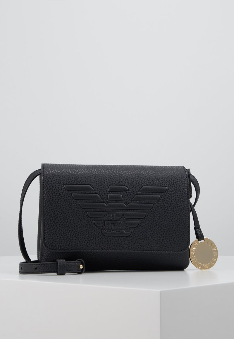 Emporio Armani - ROBERTA EAGLE MINI  - Across body bag - nero