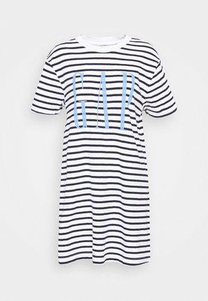TALL DRESS - Vestito di maglina - navy