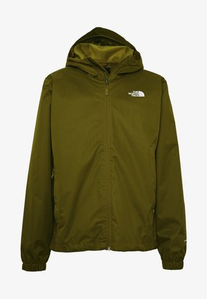MENS QUEST JACKET - Outdoorová bunda - fir green dark heather