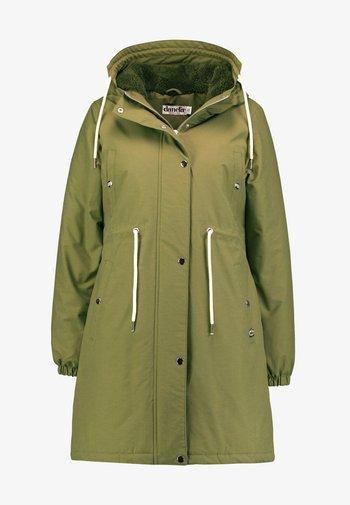 NORA  - Zimní kabát - olive