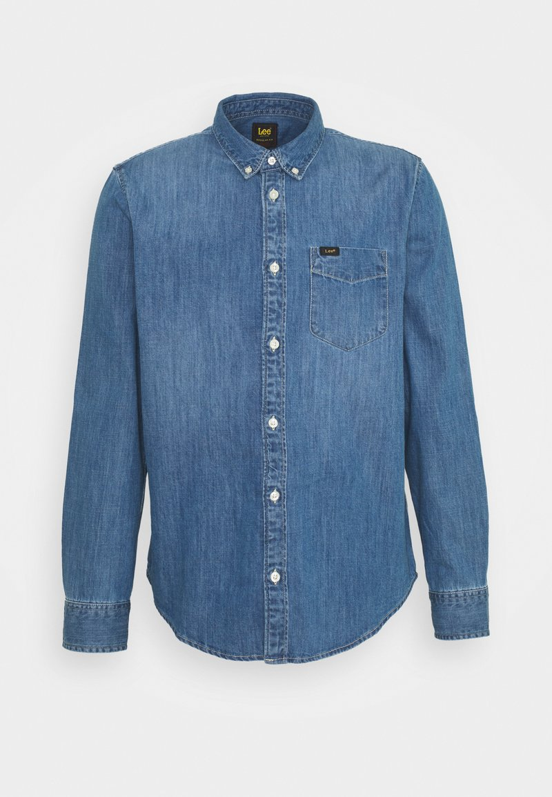 Lee - BUTTON DOWN - Skjorta - tide blue