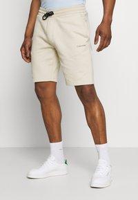 Calvin Klein - SMALL LOGO - Short - beige - 0
