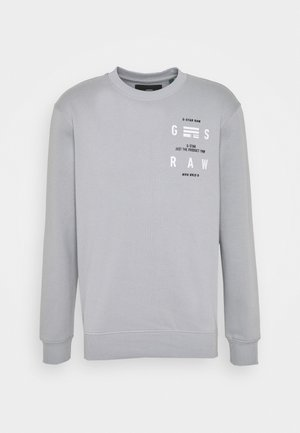 BACK PRINT LOGO R SW L\S - Sweatshirt - correct grey