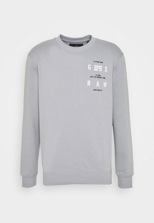 BACK PRINT LOGO R SW L\S - Sweater - correct grey