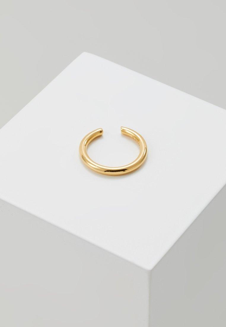 Maria Black - TWIN MEDI EARCUFF - Náušnice - gold-coloured