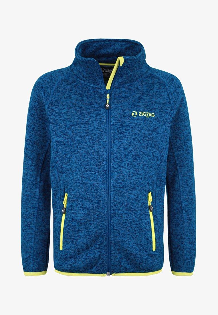 ZIGZAG - Fleece jacket - blue