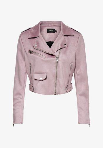 Imitatieleren jas - keepsake lilac