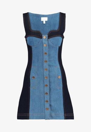ELECTRIC MEMORIES DRESS - Denimové šaty - inidigo