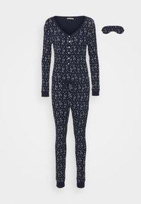 Anna Field - GIFTING JUMPSUIT - Pyjamas - dark blue - 4