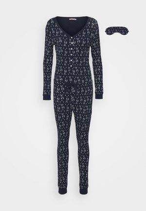 GIFTING JUMPSUIT - Pyjamas - dark blue