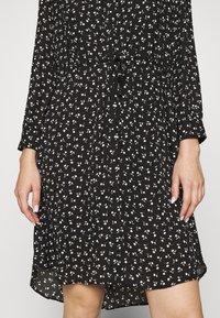 Selected Femme - SLFDAMINA  DRESS  - Skjortekjole - black - 5