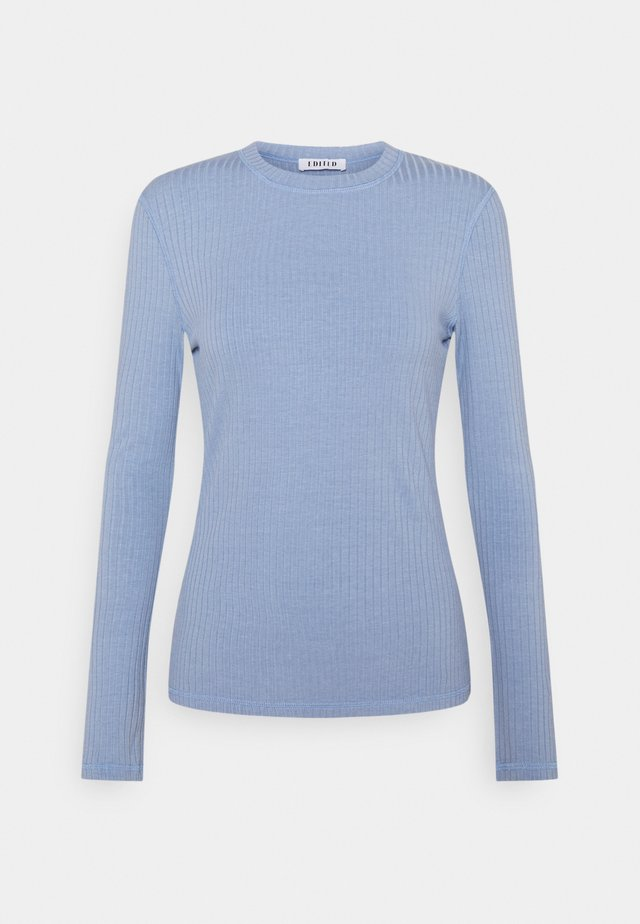 GWEN LONGSLEEVE - Long sleeved top - blau
