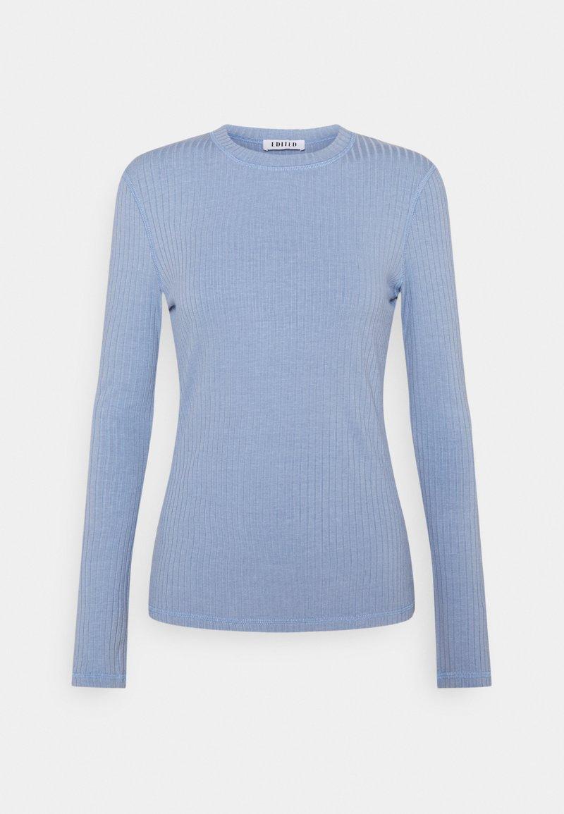 EDITED - GWEN LONGSLEEVE - Long sleeved top - blau