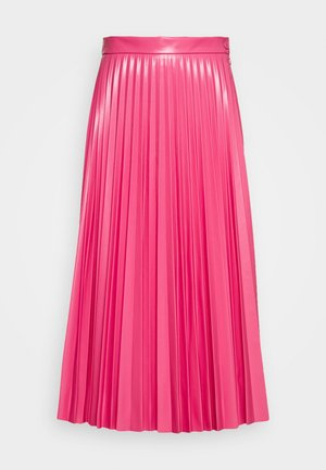PLEATED SKIRT - A-line skirt - barbie pink