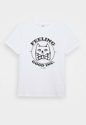 KIDS FEELING GOOD TEE - T-shirt print - white
