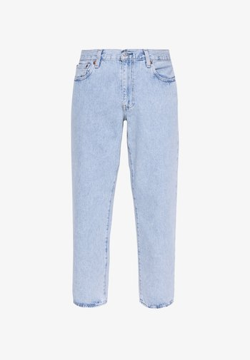 STAY LOOSE TAPER CROP - Džíny Relaxed Fit - royal stonewash