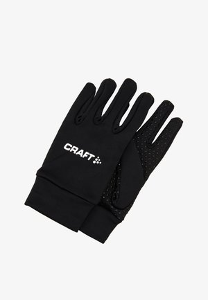 TEAM GLOVE - Fingerhandschuh - black
