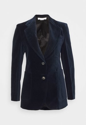 TAILORED PATCH POCKET JACKET - Sportovní sako - navy