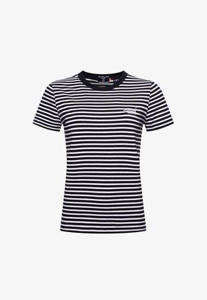 Printtipaita - black stripe