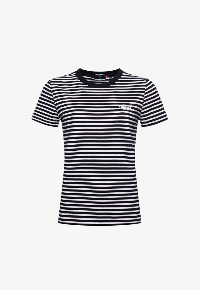 T-shirt print - black stripe
