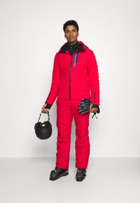 Colmar - Veste de ski - bright red/peacock/black - 1