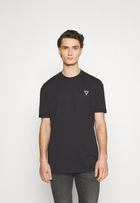 YOURTURN - T-shirt con stampa - black - 0