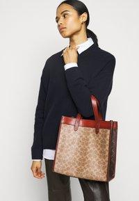 Coach - Handbag - tan/brown/rust - 1