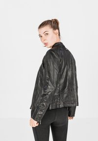 COCO - LOTTE - Leather jacket - schwarz - 2