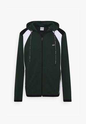 JCONOLAN - veste en sweat zippée - dark green