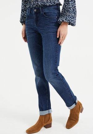 MET SUPER STRETCH - Slim fit jeans - dark blue