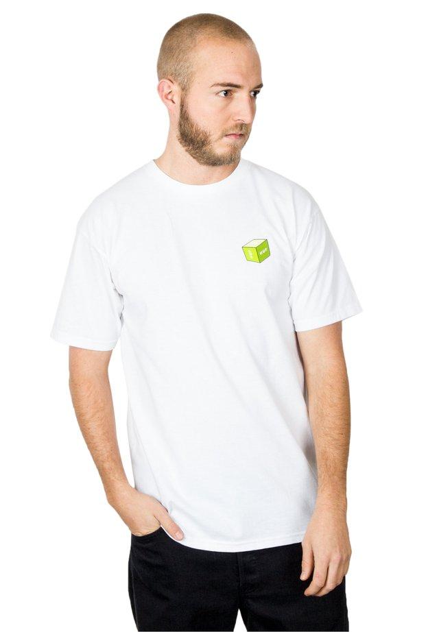 3D BOX - T-shirt imprimé - white