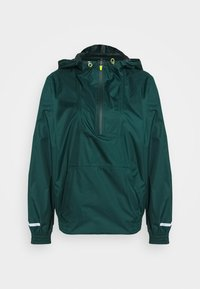 Sweaty Betty - ANORAK OVERHEAD JACKET - Regnjakke - june bug green - 4