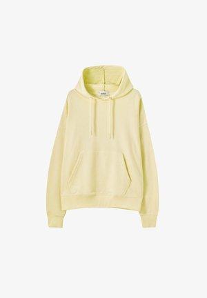 Kapuzenpullover - yellow