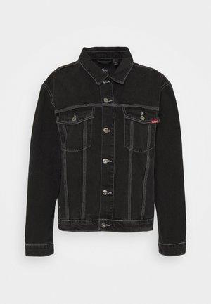 CHARCOAL JACKET - Denim jacket - charcoal