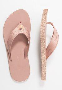 Tommy Hilfiger - MYRA  - T-bar sandals - rose gold - 3