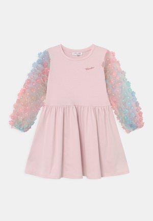 Žerzejové šaty - pink pale