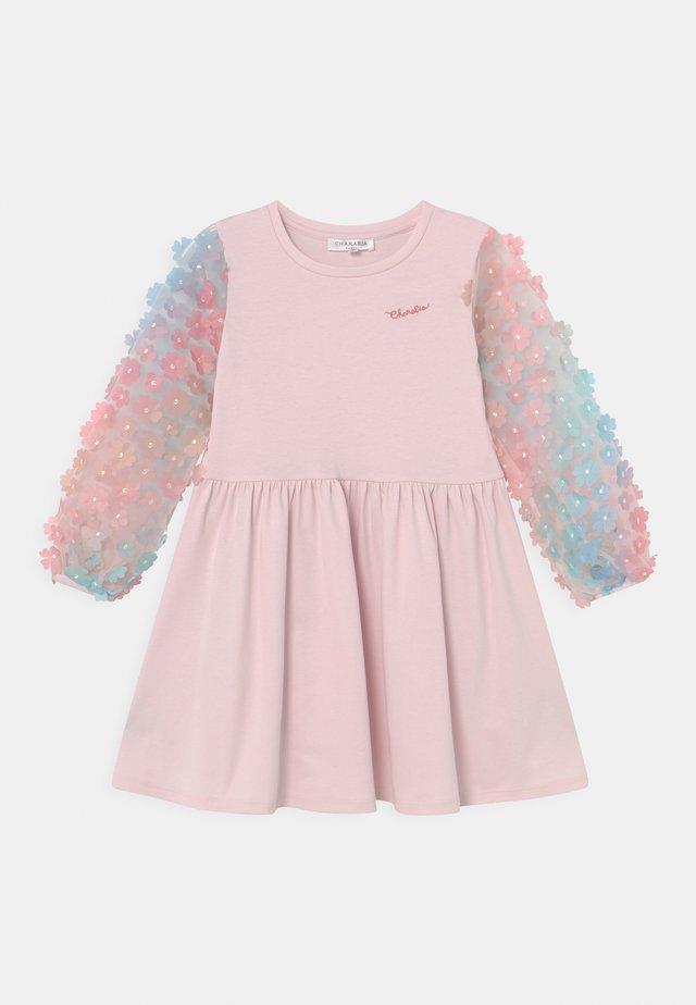 Jersey dress - pink pale